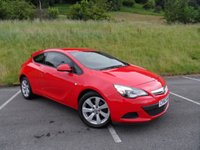 USED 2013 63 VAUXHALL ASTRA 1.7 GTC SPORT CDTI S/S 3d 128 BHP CLEAN EXAMPLE WITH SERVICE HISTORY