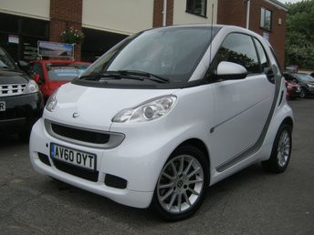 2010 SMART FORTWO 1.0 PASSION MHD 2d AUTO 71 BHP