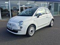 2014 FIAT 500 1.2 LOUNGE 3dr 69 BHP £5750.00