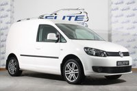 USED 2012 12 VOLKSWAGEN CADDY 1.6 C20 MATCH TDI 102 BLUEMOTION 1d 101 BHP FULL  HISTORY/IMMACULATE VAN!