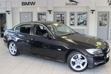 USED 2012 61 BMW 3 SERIES 2.0 318D EXCLUSIVE EDITION 4d 141 BHP FULL BLACK LEATHER SEATS + 4X BMW SERVICE STAMPS 5X BMW SPECIALIST SERVICE STAMPS + BLUETOOTH + REAR PARKING SENSORS + CRUISE CONTROL + HEATED FRONT SEATS + £30 ROAD TAX + 17 INCH ALLOYS