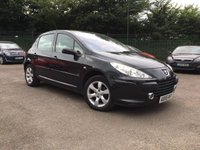 2006 PEUGEOT 307 1.6 SE 5d  PART EXCHANGE TO CLEAR £1500.00
