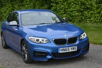 USED 2015 65 BMW 2 SERIES 3.0 M235I 2d AUTO 322 BHP 1 OWNER FBMW LEATHER XENONS SAT NAV PARK AIDS BLUETOOTH