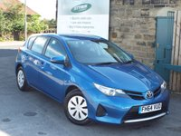 USED 2014 64 TOYOTA AURIS 1.4 ACTIVE D-4D 5d 89 BHP Two Owners ZERO Rate Road Tax