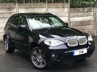 2011 BMW X5 3.0 XDRIVE40D M SPORT 5d 302 BHP £18995.00