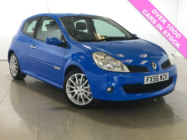 View our 2006 56 RENAULT CLIO 2.0 RENAULTSPORT 197 3d 195 BHP