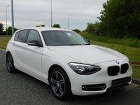 USED 2013 63 BMW 1 SERIES 1.6 114D SPORT 5d 94 BHP DAB, PRIVACY GLASS, BLUETOOTH