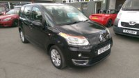 2012 CITROEN C3 PICASSO 1.6 PICASSO VTR PLUS HDI 5 DOOR 90 BHP IN BLACK WITH ONLY 66000 MILES £3999.00