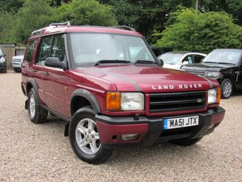 2001 LAND ROVER DISCOVERY 2.5 TD5 GS 7STR 5d AUTO 136 BHP £2000.00