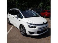 2014 CITROEN C4 GRAND PICASSO 1.6 E-HDI AIRDREAM EXCLUSIVE PLUS 5 DOOR 113 BHP IN WHITE WITH ONLY 56000 MILES £10299.00