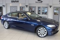 """USED 2011 BMW 5 SERIES 3.0 525D SE 4d 202 BHP FULL CREAM LEATHER SEATS + FULL SERVICE HISTORY + PRO NAV + BLUETOOTH + CRUISE CONTROL + AIR CONDITIONING + 18"""" ALLOYS +"""