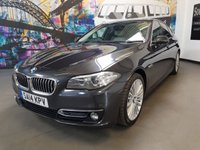 2014 BMW 5 SERIES 2.0 520D LUXURY 4d AUTO 181 BHP £13494.00