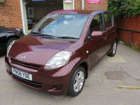2008 DAIHATSU SIRION 1.3 SE 5d AUTO 85 BHP £SOLD