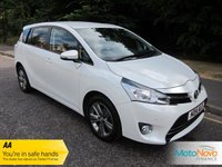 USED 2014 14 TOYOTA VERSO 1.8 VALVEMATIC TREND 5d 131 BHP Fantastic One Owner Low Mileage Automatic Toyota Verso with Seven Seats, Satellite Navigation, Climate control, Cruise Control, Alloy Wheels and Toyota Service History