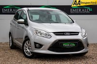 USED 2012 62 FORD GRAND C-MAX 1.6 TITANIUM TDCI 5d 114 BHP £0 DEPOSIT FINANCE AVAILABLE, 6 SEATS, AIR CONDITIONING, BLUETOOTH CONNECTIVITY, CLIMATE CONTROL, CRUISE CONTROL, DAB RADIO, PARK PILOT SENSORS, STEERING WHEEL CONTROLS, TRIP COMPUTER