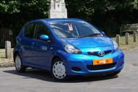 2010 TOYOTA AYGO 1.0 VVT-I BLUE 5d 67 BHP £4490.00