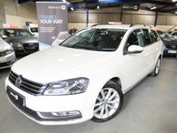 USED 2014 14 VOLKSWAGEN PASSAT 2.0 EXECUTIVE TDI BLUEMOTION TECHNOLOGY DSG 5d AUTO 139 BHP