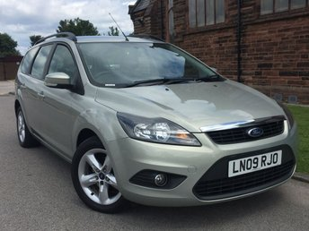 2009 FORD FOCUS 1.6 ZETEC TDCI 5d 109 BHP [£30 ROAD TAX] £2495.00