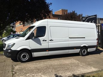 2015 MERCEDES-BENZ SPRINTER 2.1 313CDI LWB HIGH ROOF 130BHP NEW SHAPE. 1 OWNER. FSH £9750.00