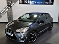 USED 2013 13 CITROEN DS3 1.6 E-HDI DSTYLE PLUS 3dr £0 Road Tax, Averages 76 MPG, FSH , Lovely Example !! Purple Roof & Mirrors