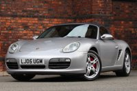 USED 2005 05 PORSCHE BOXSTER 3.2 987 S 2dr FULL HISTORY-HEATED LTHR-BOSE