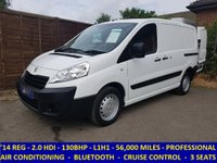 2014 PEUGEOT EXPERT 2.0 HDI L1H1 PROFESSIONAL 130BHP WITH CRUISE CONTROL £7295.00