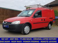 2007 VAUXHALL COMBO 1700 1.C CDTI NO VAT TO PAY WITH LOADS OF HISTORY £2295.00