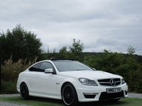 USED 2013 63 MERCEDES-BENZ C CLASS 6.2 C63 AMG 2d AUTO 457 BHP