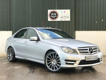 2013 MERCEDES-BENZ C CLASS 2.1 C250 CDI BLUEEFFICIENCY AMG SPORT 4d 202 BHP £12995.00
