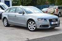 USED 2011 11 AUDI A4 2.0 AVANT TDI SE DPF 5d AUTO 141 BHP 2 KEYS ~ FULL SERVICE RECORDS (8 STAMPS) ~ MULTITRONIC OIL REPLACED