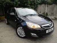 USED 2011 11 VAUXHALL ASTRA 1.4 EXCITE 5d 98 BHP