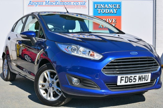 2015 65 FORD FIESTA 1.2 ZETEC 5d Hatchback with Low Running Costs Low Tax and High 55mpg