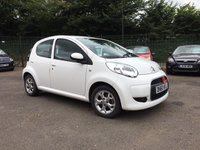 2011 CITROEN C1 1.0 VTR PLUS 5d AUTOMATIC WITH SERVICE HISTORY  £4000.00