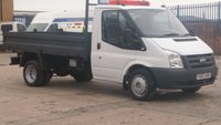 2007 FORD TRANSIT 2.4 350 MWB SHR 1d 115 BHP 1 OWNER F/S/H 10 STAMPS IN THE BOOK  2 KEYS  FREE 12 MONTHS WARRANTY COVER /// £5990.00