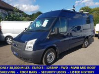 2013 FORD TRANSIT 125 300 MWB MEDIUM ROOF ONLY 38,000 MILES £8795.00