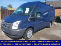 2013 FORD TRANSIT 125 300 MWB MEDIUM ROOF ONLY 51,000 MILES £7795.00