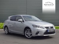 2014 LEXUS CT 1.8 200H ADVANCE 5d AUTO 134 BHP £9995.00