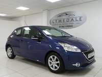 USED 2012 12 PEUGEOT 208 1.4 ACTIVE 3d 95 BHP IMMACULATE INTERIOR, TOUCH SCREEN DISPLAY, MOT 10.5.19
