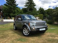 2010 LAND ROVER DISCOVERY 3.0 4 TDV6 XS 5d 245 BHP £14990.00