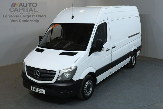 2016 16 MERCEDES-BENZ SPRINTER 2.1 313 CDI 129 BHP MWB HIGH ROOF ONE OWNER FROM NEW, SERVICE HISTORY