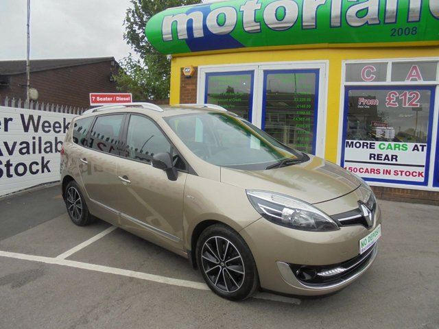 USED 2013 63 RENAULT GRAND SCENIC 1.6 DYNAMIQUE TOMTOM BOSE PLUS DCI S/S 5d 130 BHP