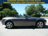 USED 2006 06 MAZDA MX-5 2.0 I 2d 160 BHP Low Mileage, New MOT, Superb, 2 Owners From New