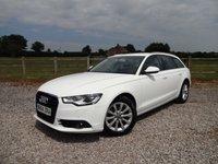 2014 AUDI A6 2.0 AVANT TDI ULTRA SE 5d 188 BHP £SOLD