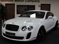 2009 BENTLEY CONTINENTAL 6.0 SUPERSPORTS 2d AUTO 621 BHP £52975.00