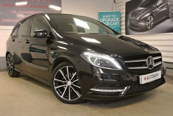 2012 MERCEDES-BENZ B CLASS 1.8 B180 CDI BLUEEFFICIENCY SPORT 5d 109 BHP £7990.00