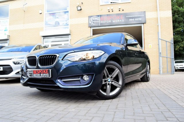 2014 14 BMW 2 SERIES 218D 2.0 SPORT COUPE
