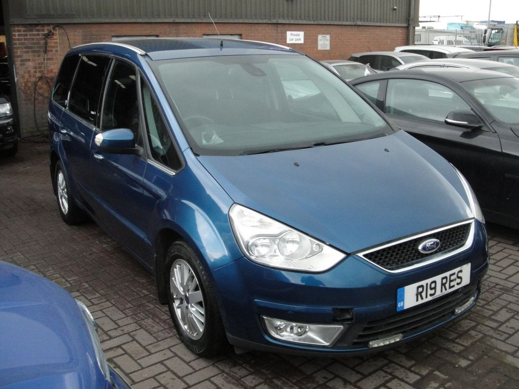 Used 2007 r ford galaxy 2 0 ghia tdci 5d auto 130 bhp any part exchange welcome