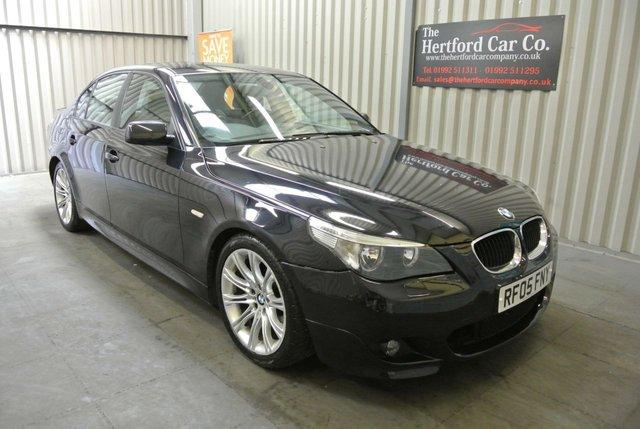 2005 05 BMW 5 SERIES 3.0 530D SPORT 4d AUTO 215 BHP