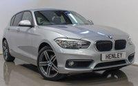 2016 BMW 1 SERIES 2.0 118D SE 5d AUTO 147 BHP £14490.00