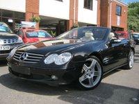 USED 2004 04 MERCEDES-BENZ SL 5.0 SL500 2d AUTO 302 BHP